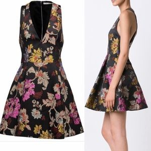Alice+Olivia NWT Floral Brocade Cocktail Dress